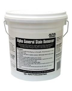 Alpha General Purpose Stain Remover, 5 lbs. Bucket