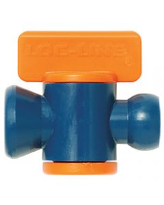 "Loc-Line 1/4"" In-line On/Off Valve, Pack of 10"