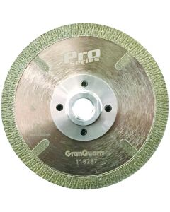 "PRO SERIES ELECTROPLATED 5""  BLADE 5/8-11 THREAD FLUSH CUT"