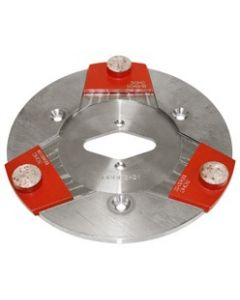 """LAVINA 9"""" METAL PLATE  FOR QUICK SYSTEM CHANGE"""