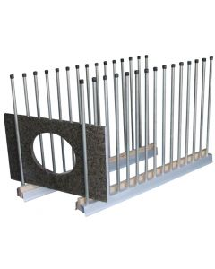 "GROVES REMNANT RACK 60"" USS-5 UNIVERSAL STORAGE SYSTEM"