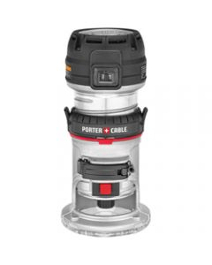 Porter Cable Max Torque Compact Router, 1.25hp