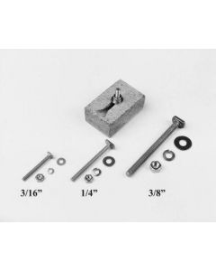 Sink Mounting Hardware: T-31 Anchor Bolts